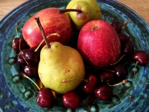 Old fruit is a brilliant food source for garden butterflies.